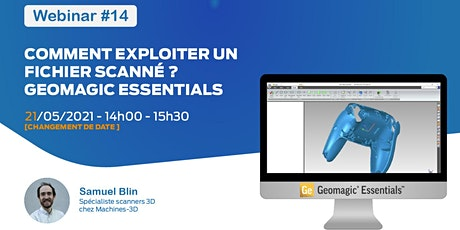 Webinar #14 - Comment exploiter un fichier scanné ? - Geomagic Essentials billets