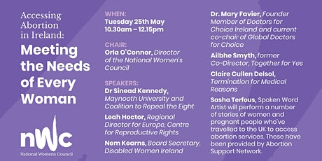 Accessing Abortion in Ireland: Meeting the Needs of Every Woman tickets