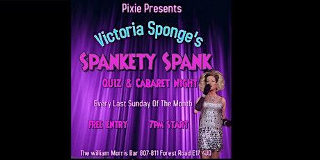 Drag Queen Victoria Sponge's Spankety Spank Quiz & Cabaret Night tickets