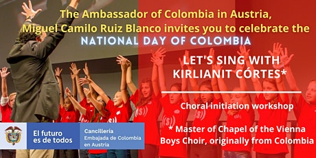 """Choral initiation workshop  """"Let's sing with Kirlianit Córtes"""". Tickets"""