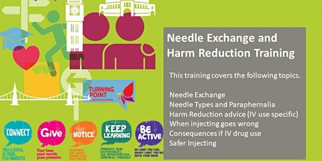 Needle Exchange and Harm Reduction Training tickets