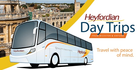 Bournemouth Day Trip - travel by coach from Bicester & Oxford tickets