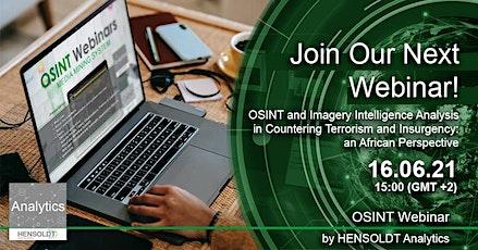 OSINT and Imagery Intelligence Analysis biglietti