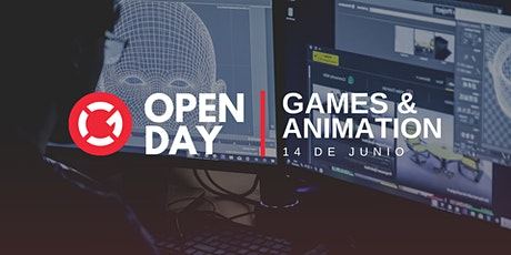 Open Day | Games & Animation entradas