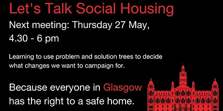 Glasgow Housing Rights Defenders: Using A Problem And Solution Tree tickets