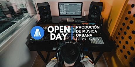 Open Day | Producción de Música Urbana entradas