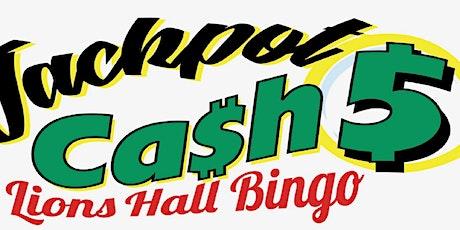 Cash 5 Jackpot tickets