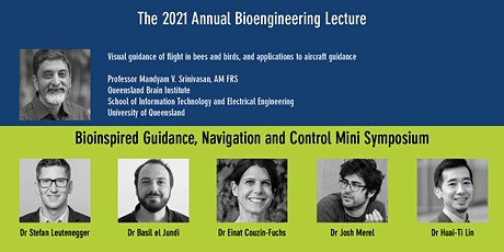 Annual Bioengineering Lecture + Bioinspired GNC Mini-symposium tickets