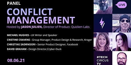 UX Crunch at Home (Panel) - Conflict Management tickets