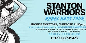 STANTON WARRIORS // REBEL BASS WORLD TOUR // HAVANA,...
