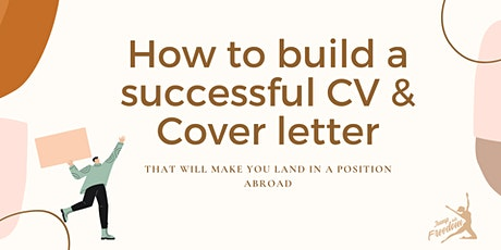 Workshop: How to build a successful CV & Cover letter entradas