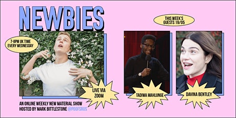 Newbies: A New Material Online Comedy Night tickets
