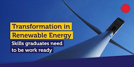 Transformation in Renewable Energy – RMIT Global Career Webinar tickets