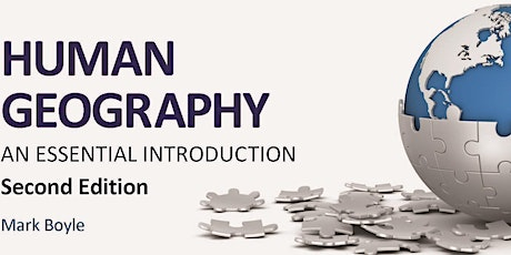 Human Geography: An Essential Introduction second edition book launch tickets