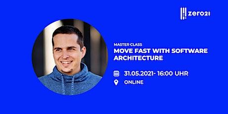 zero21 Master Class: Move fast with Software Architecture boletos