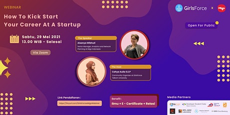 How to Kick Start Your Career at a Startup tickets