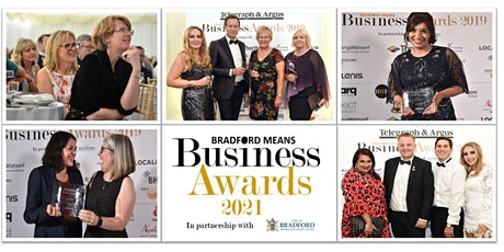 Bradford Means Business Awards 2021 tickets