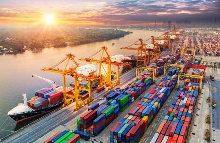 """""""Mastering Today's Challenges in Freight & Logistics"""" – Air – Sea – Rail image"""