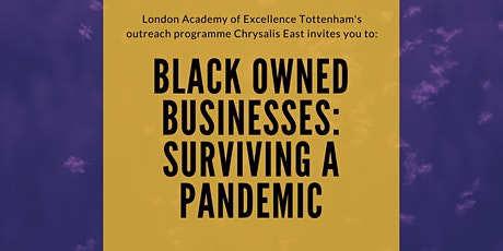 Black Owned Businesses: Surviving  a Pandemic tickets