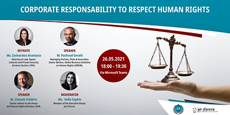 Webinar: Corporate Responsibility to respect Human Rights Tickets