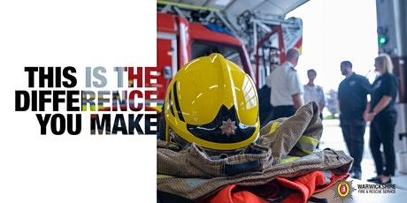 Warwickshire Fire and Rescue Service Recruitment Taster Day! - ALL tickets