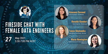 Fireside Chat with Female Data Engineers tickets