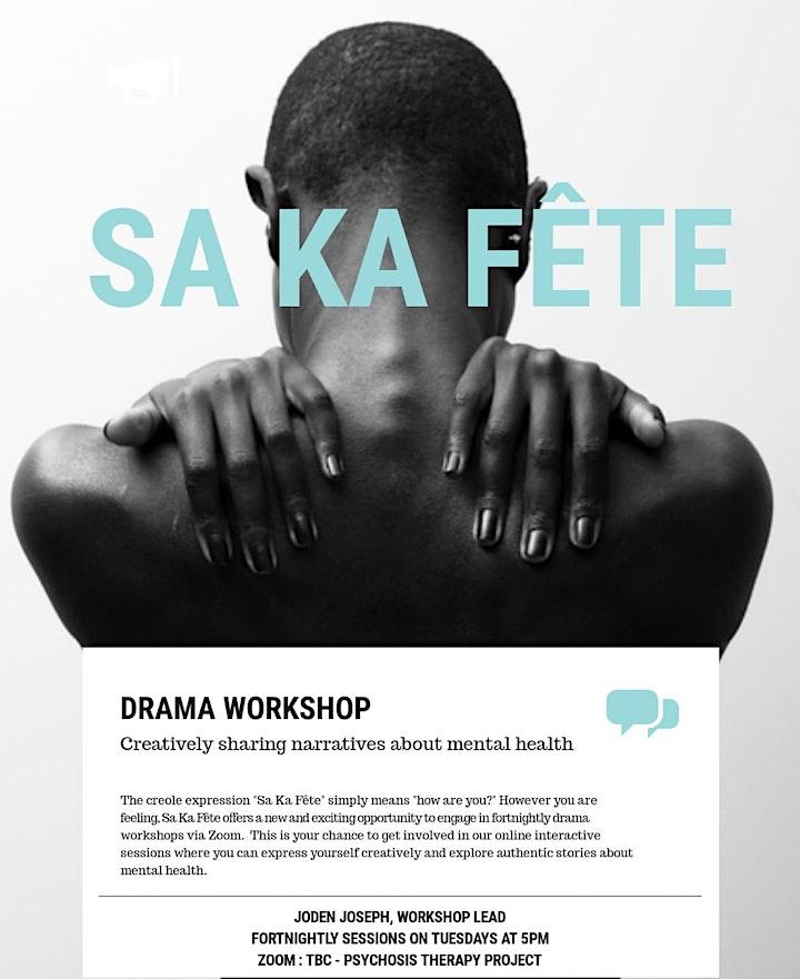"""PTP Online Drama Workshop """"Sa Ka Fête"""" image"""
