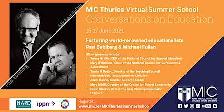MIC Thurles Summer School - Conversations on Education tickets