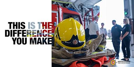 Warwickshire Fire and Rescue Service Recruitment Taster Day- Neurodiversity tickets