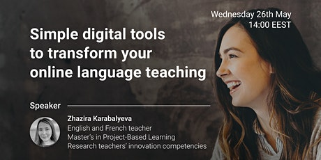 How to use simple digital tools to transform your online language teaching tickets