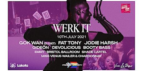 Werk It - Pride Day & Night Party: Gok Wan, Jodie Harsh, Fat Tony & more! tickets