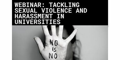 Tackling Sexual Violence and Harassment in Universities tickets
