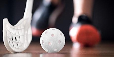 Kunne du tænke dig at prøve floorball? tickets