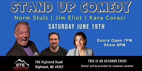 Live Comedy - Norm Stulz and Friends tickets
