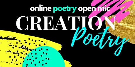 Online Poetry Open Mic featuring Simone Yasmin and Rhian Brooke tickets