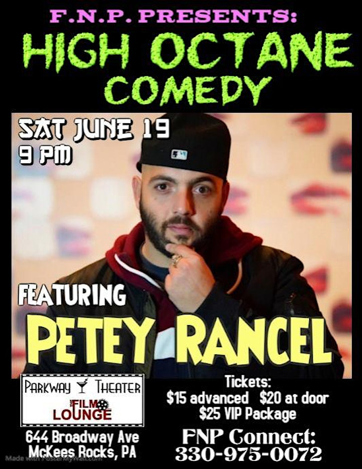 High Octane Comedy from Atlantic City image