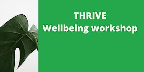 THRIVE Wellbeing workshop tickets