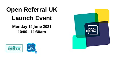 Open Referral UK Launch Event tickets