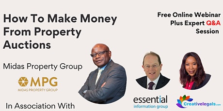 Property Auction Workshop -  How To Make Money From Property  Auctions tickets