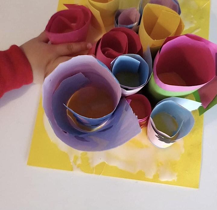 Under 5's Art Club....  5 week course image