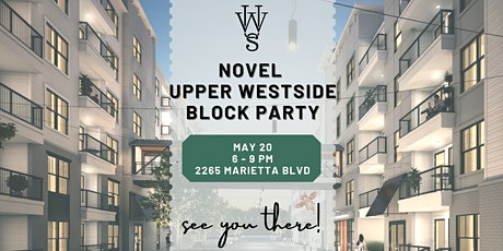 Novel Upper Westside Summer Block Party tickets