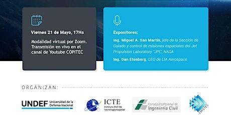 """Ciclo: 2das Jornadas Aeroespaciales  """"Acceso al Espacio Argentino"""" entradas"""