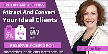 Ideal Client Success Masterclass tickets