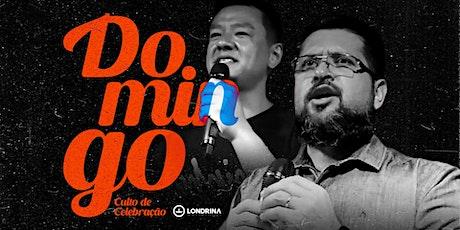 CULTO DE DOMINGO | 19 HORAS ingressos