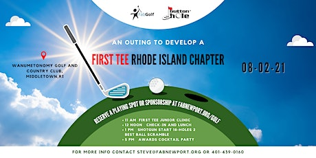 Launch First Tee Rhode Island tickets