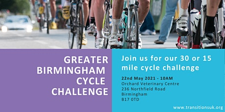 Greater Birmingham Cycle Challenge tickets