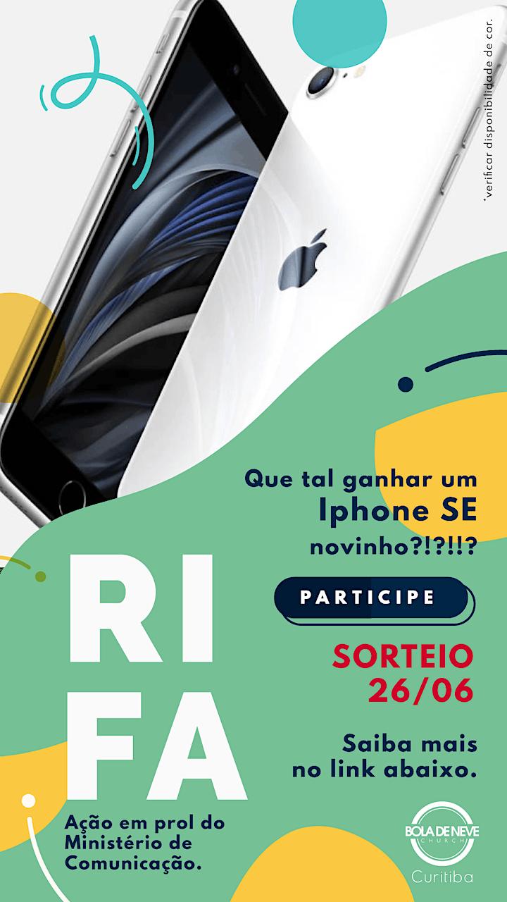 Imagem do evento Ação Iphone para Comunicação