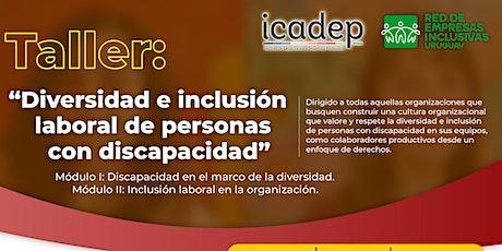 Workshop:  Diversidad e inclusión laboral de personas con discapacidad entradas
