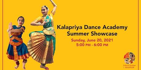 Kalapriya Dance Academy Summer Showcase tickets