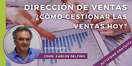 WEBINAR | DIRECCIÓN DE VENTAS:   ¿CÓMO GESTIONAR LAS VENTAS HOY? entradas